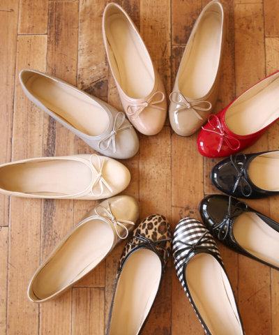 要出典 妊婦 靴 フラットシューズ リボン デザイン フラット レインパンプス