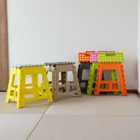 要出典 子供 踏み台 クラスタースツール 折りたたみ式踏み台