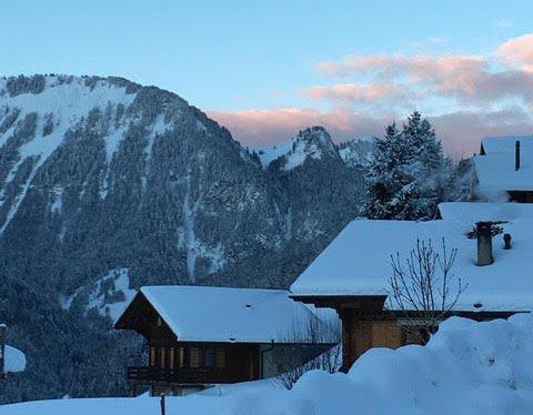 スイス 冬