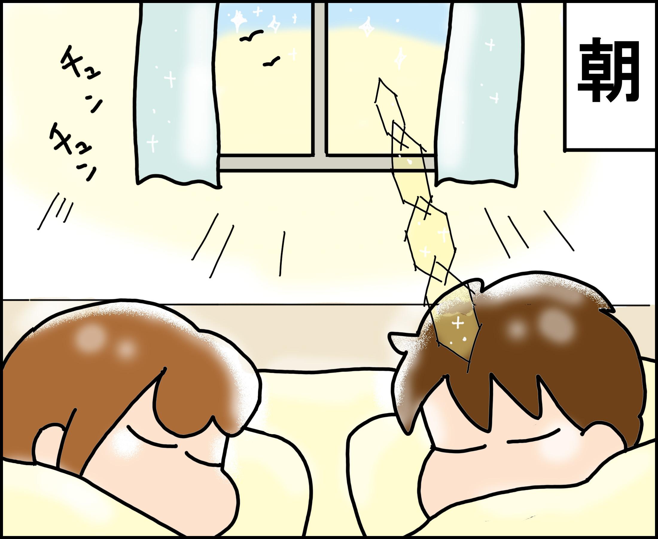 ゆゆ家の男子観察日記 #6「最悪の目覚め」