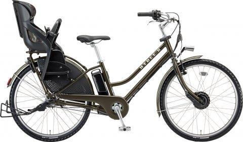 要出典 子供乗せ 電動自転車 ブリヂストン ハイディツー 2017年モデル