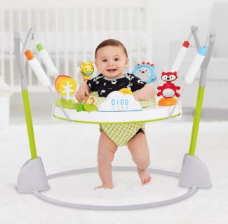 要出典 ジャンパルー 赤ちゃん スキップホップ ジャンパルー エクスプロア アンド モア 折りたたみ