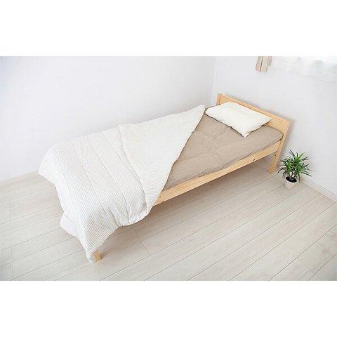 要出典 子供用ベッド JAJAN 天然木すのこベッド アブサロム