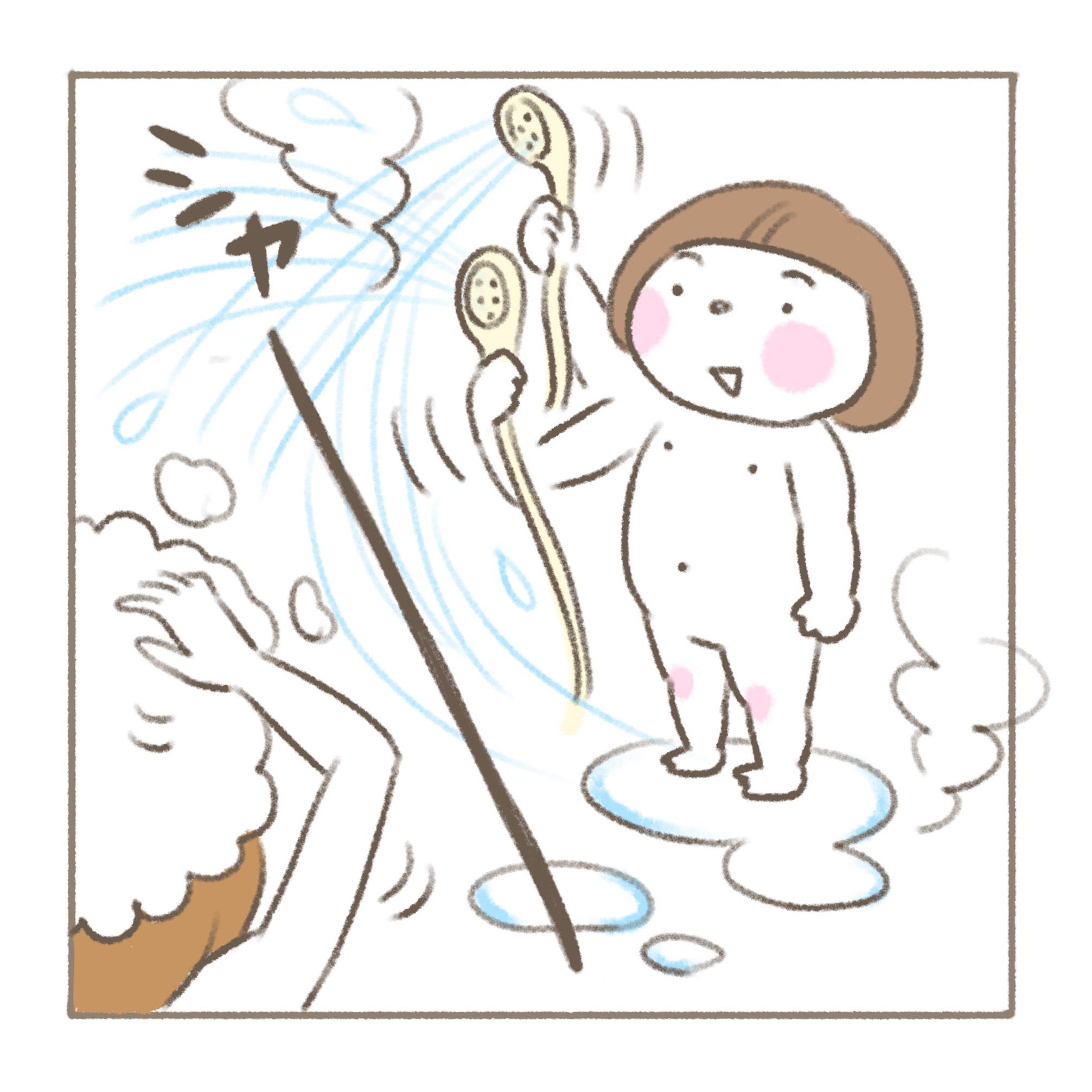 べったりみくちゃん#9「シャワー係」