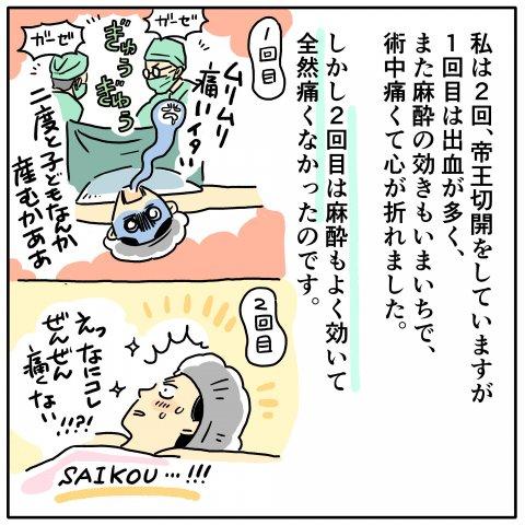ツルリンゴスター 出産体験記 4話
