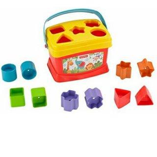 0〜1歳知育玩具 フィッシャープライス はじめてのブロック