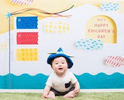 赤ちゃん 初節句 鯉のぼり 子供の日