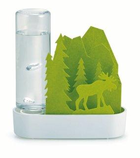 加湿器 積水樹脂 自然気化式ECO加湿器 うるおいちいさな森