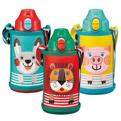要出典 子供 水筒 コロボックル ステンレス製 携帯用まほうびん ダイレクト・コップ・水筒