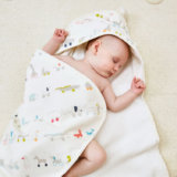 赤ちゃんバスタオル プチペハー フードタオル
