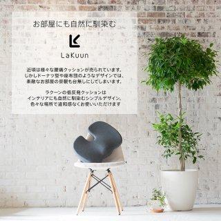 要出典 骨盤クッション LaKuun 低反発クッション 骨盤サポート