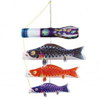 鯉のぼり 値段 徳永鯉 室内用吊るし飾り 星歌スパンコール