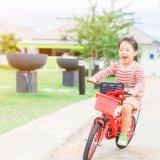 4歳 女の子 自転車 公園