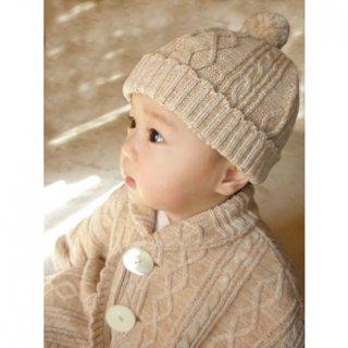 要出典 新生児 帽子 オーガニックコットベビー帽子 ニット帽