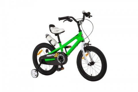 4歳 自転車 ロイヤルベイビー 補助輪付き 子ども自転車 RB-WE フリースタイル