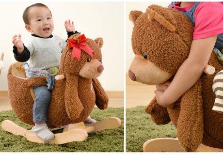 1歳 誕生日 女の子 乗れるぬいぐるみ ココット クマ