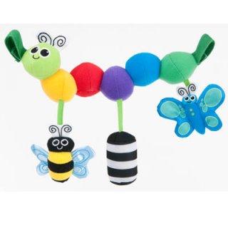要出典 ベビーカーのおもちゃ Sassy ベビーカー用おもちゃ キャタピラー・キャリー