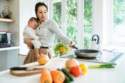 ワンオペ育児 料理