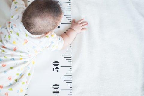 赤ちゃん 身長 日本人