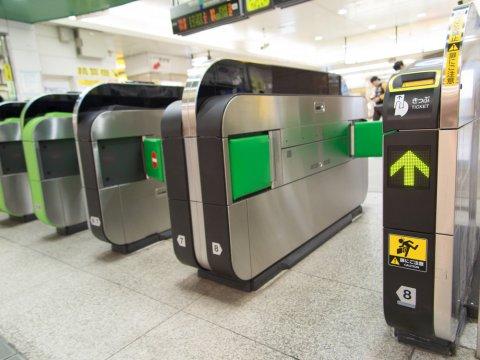 改札 日本 駅 電車