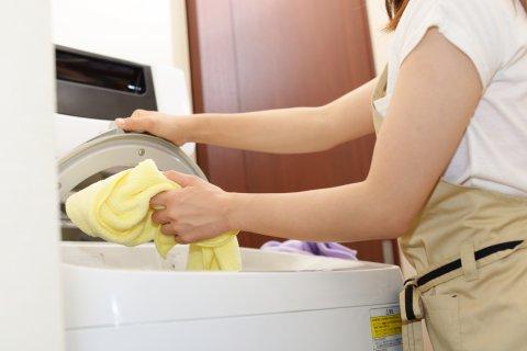 洗濯機 女性 日本人
