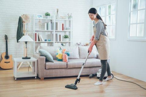ママ 掃除 日本人