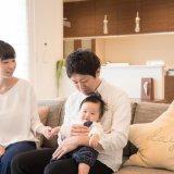 家族 赤ちゃん 新生児 日本人