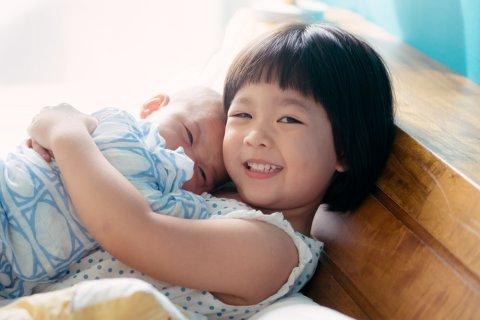 きょうだい 日本人 赤ちゃん 子供