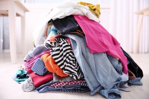 洗濯物 大量