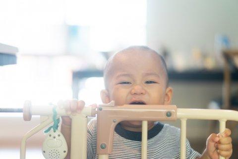 ベビーゲート 日本人 子供