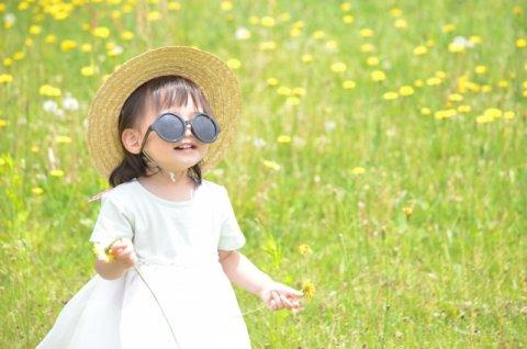 日焼け対策 帽子 サングラス 子供 日本人