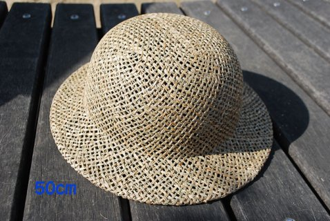 要出典 ベビー帽子 ビーエヌティー ベビー プレーンな麦わら帽子