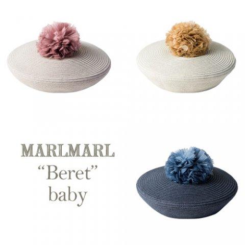 要出典 ベビー帽子 マールマール ベビー ベレー帽