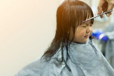 散髪 子供 日本人