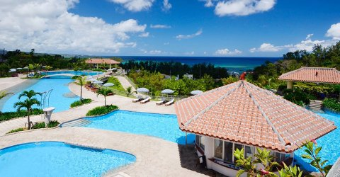 沖縄 プール オキナワ マリオット リゾート & スパ ガーデンプール