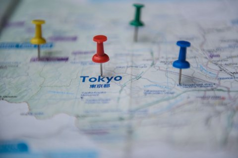 地図 ピン 日本