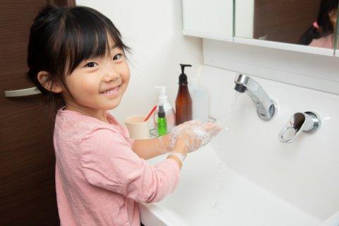 手洗い 予防 日本人 子供