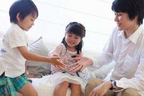 3歳児 遊び 日本人 親子