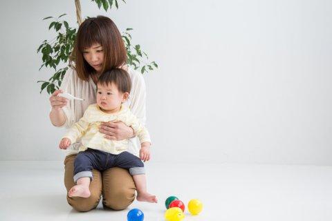 熱 子供 日本人 親子