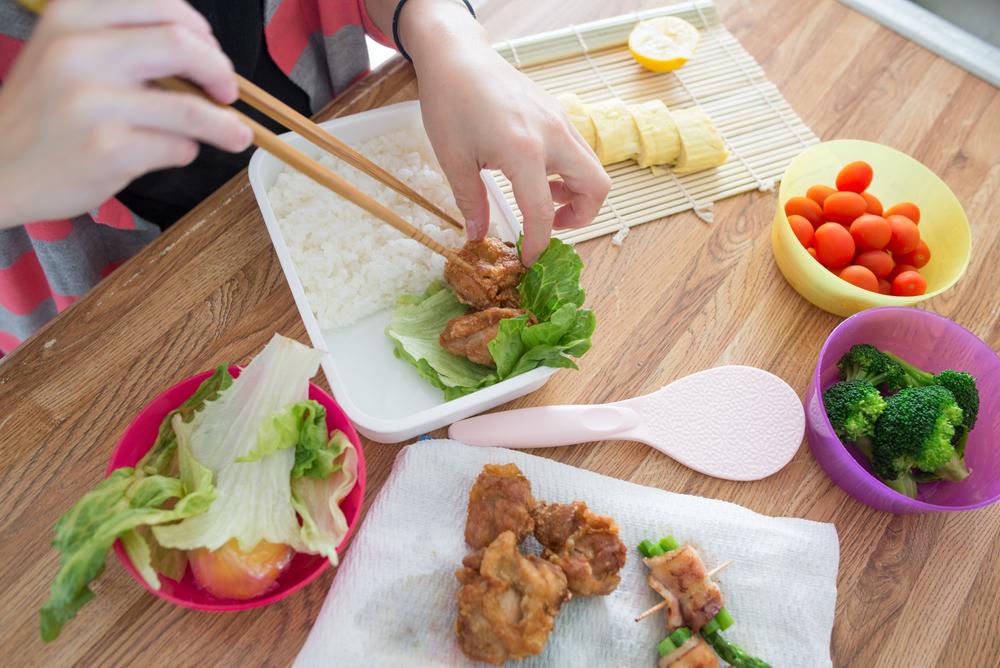 親子遠足 弁当 日本