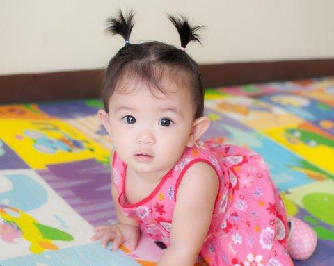 赤ちゃん 日本人 女の子
