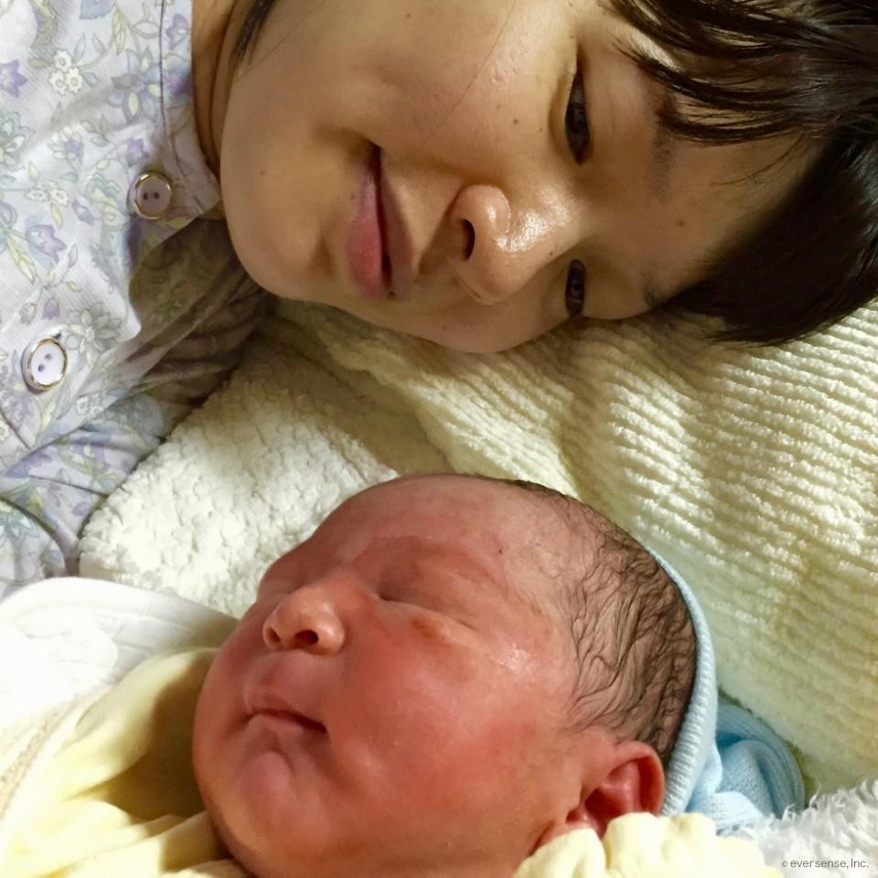 【出産体験談】予定日から4日遅れの車内出産!元気に生まれてきました