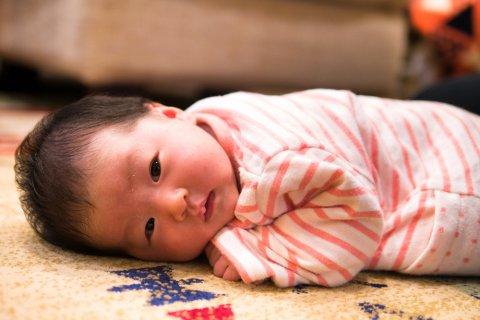 日本人 赤ちゃん 生後1ヶ月