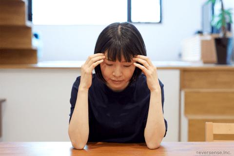 オリジナル 女性 落ち込む 日本人
