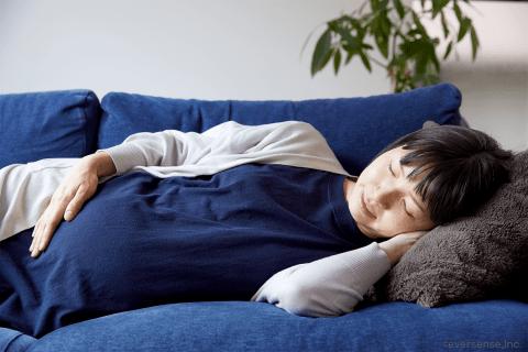 オリジナル 妊婦 ソファ 寝る