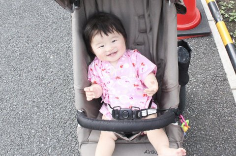 赤ちゃん 外出 日本人