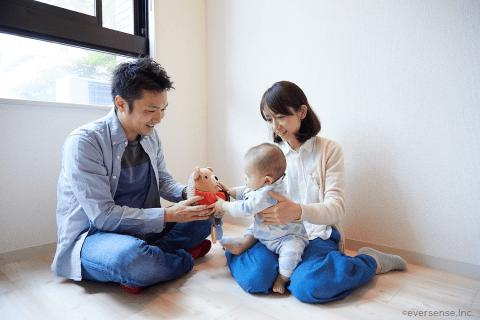 オリジナル 赤ちゃん ママ パパ 家族