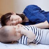 オリジナル 昼寝 寝る 赤ちゃん ママ