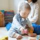 オリジナル 赤ちゃん 座る 遊ぶ