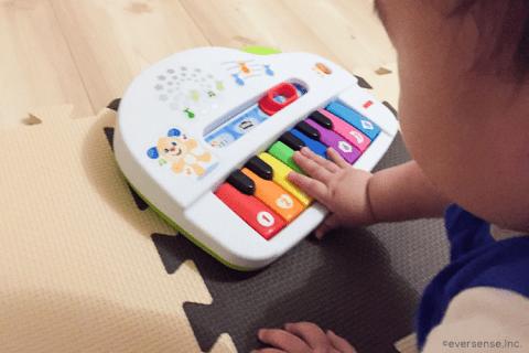 記事広告 マテル バイリンガル・わくわくピアノ 2